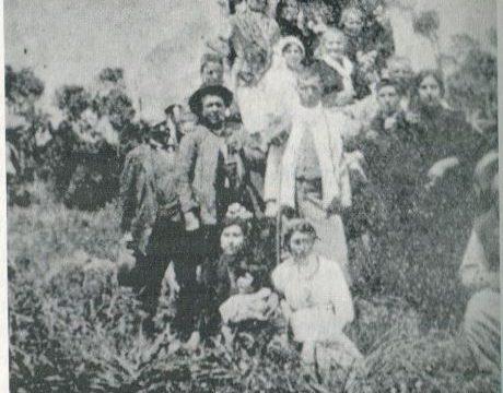 Ana Gómez Varela, hermana mayor de la Hermandad del Rocío de Huelva en 1914