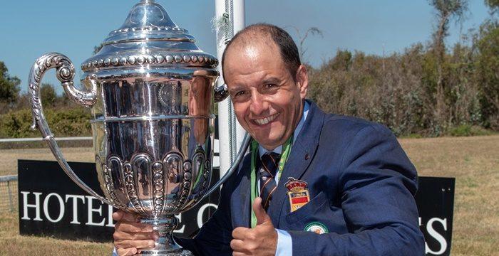 El onubense Miguel Jesús Sánchez Jiménez, campeón del mundo de tiro al vuelo