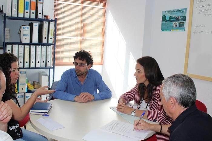 La delegada de Justicia visita entidades que trabajan por la integración del inmigrante