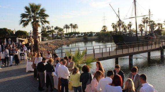 El Muelle de la Carabelas acoge las jornadas de turismo 'Andalucía en Andalucía'