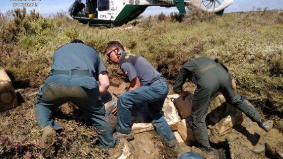 La Guardia Civil frustra dos alijos en Lepe y Ayamonte