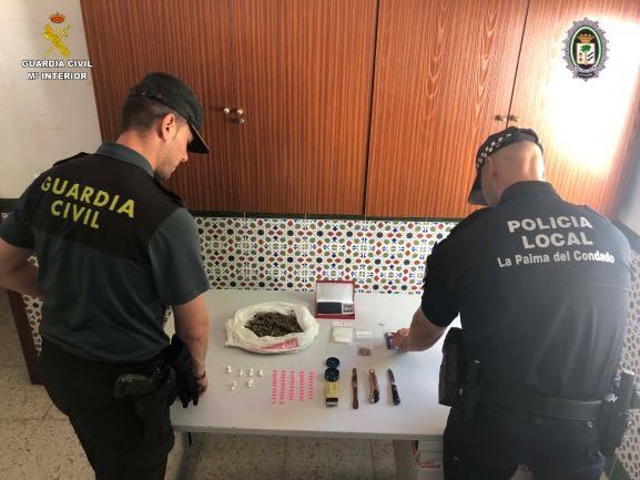 Detenido un varón por la venta de droga en un parque frecuentado por menores en La Palma