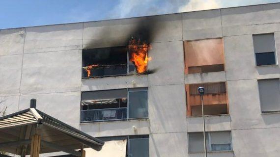 Un incendio en una vivienda de Huelva queda en un susto