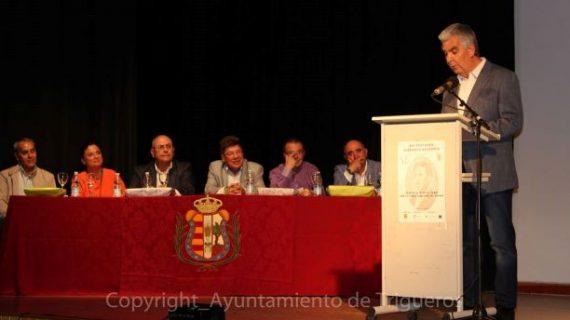 Trigueros vive la 'Fiesta de la Palabra' en la XXI ceremonia de entrega 'Fernando Belmonte'
