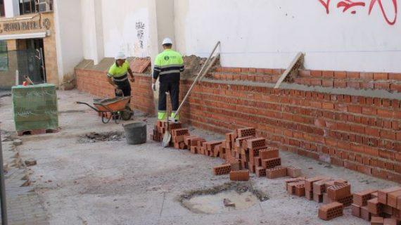 Amplían la Plaza de Lino de Huelva integrando un parterre a petición de los vecinos