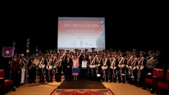 La empresa Iturri y la Agrupación Musical Nuestro Padre Jesús Nazareno, Medallas de La Palma 2019