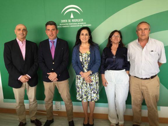 La Fundación Cepsa incluye el Arboreto de El Villar en su colaboración con la Junta
