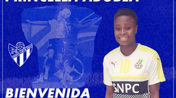El Sporting Puerto de Huelva confirma el fichaje de la delantera ghanesa Princilla Adubea