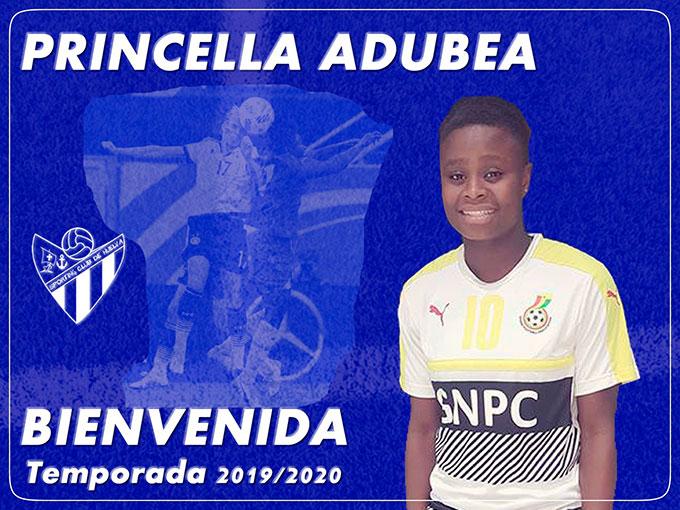 Princilla Adubea, refuerzo para la delantera del Sporting.