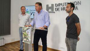 Un momento de la presentación de la Olipaterna XC-11º Rally Villa de Paterna del Campo.