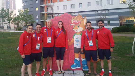 El técnico onubense Carlos Longo y Pablo Abián acuden con España a los Juegos Europeos de Minsk 2019