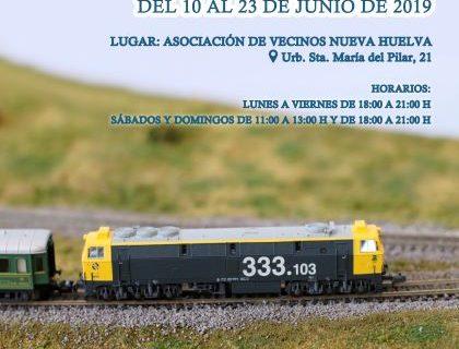 La Asociación Amigos del Ferrocarril Onubense organiza la II Exposición de Modelismo Ferroviario 'Ciudad de Huelva'