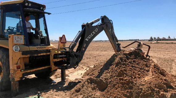 La Comunidad de Regantes Palos de la Frontera acomete obras de mejora en sus instalaciones