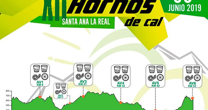 El 12º Maratón BTT Hornos de Cal-Extreme Bike Santa Ana la Real se celebrará el próximo 30 de junio