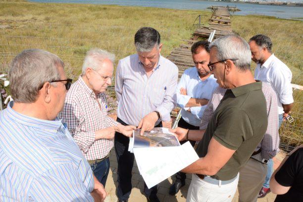 Las obras de restauración del Muelle de la Calzadilla de Palos de la Frontera comenzarán en breve
