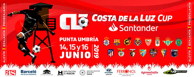 Más de 1.300 deportistas toman parte este fin de semana en Punta Umbría en el 'Costa de la Luz Cup Santander'