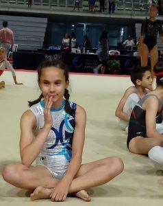 Carmen Izquierdo tuvo una notable actuación en el Campeonato de Andalucía de Gimnasia Artística.