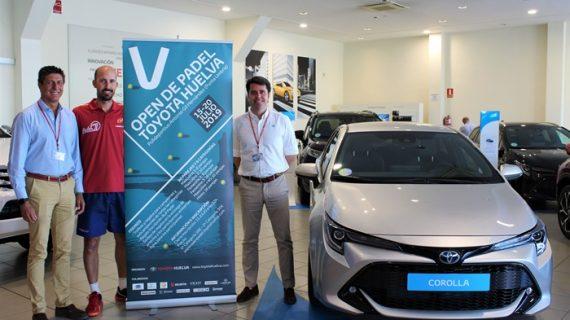 Punta Umbría acogerá en julio el V Open de Pádel Toyota Huelva