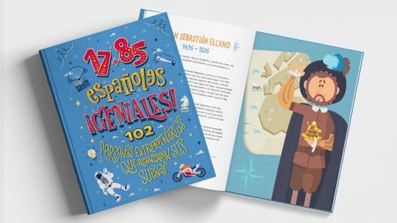 Carolina Marín presente en un libro ilustrado para niños sobre 102 españoles extraordinarios