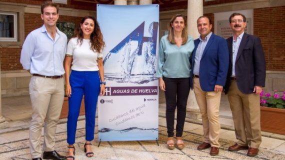Aguas de Huelva asegura el suministro de agua en el camino a los peregrinos de las Hermandades de Huelva y Emigrantes