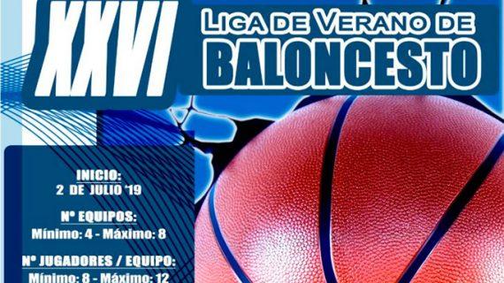 Un máximo de ocho equipos tomarán parte en la XXVI Liga de Verano de Baloncesto en Punta Umbría