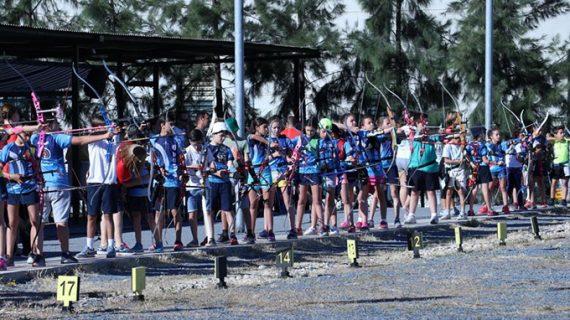 Más de 130 deportistas se dieron cita en el Campeonato Provincial de Tiro con Arco al Aire Libre