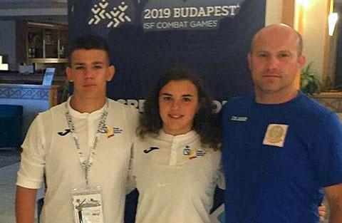 La luchadora cartayera Natalia Pereda conquista la medalla de bronce en los Juegos Mundiales Escolares