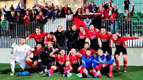 El Recreativo de Huelva se medirá al Mirandés en la segunda eliminatoria por el ascenso a la Liga 123