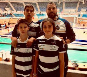 Representantes del Recre IES La Orden en el torneo que se ha celebrado en Santander.