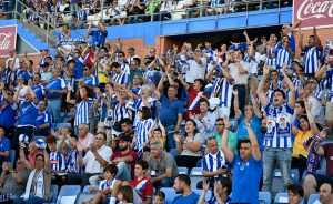 La afición del Recre dispone desde este miércoles de 400 entradas para el partido en Mérida.