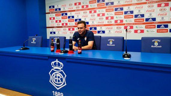 """José María Salmerón confía en ver el domingo """"al Recre competitivo de toda la Liga"""""""
