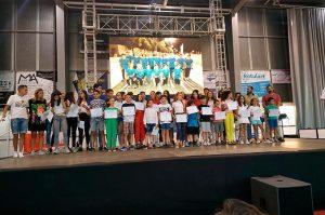 Un momento de la XVIII Gala del Deporte en San Juan del Puerto.