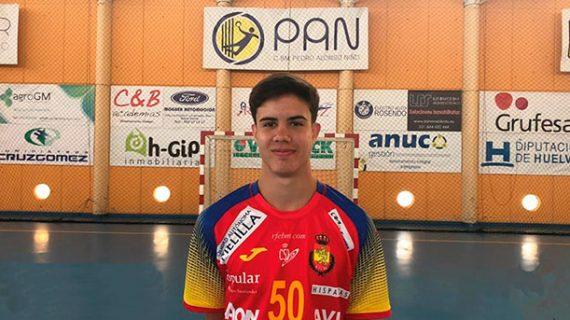 El moguereño Daniel Serrano, convocado por la selección española para el Europeo Open de balonmano