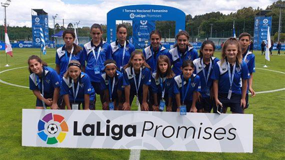 Gran experiencia para el Sporting de Huelva Alevín su presencia en el I Torneo LaLiga Promises