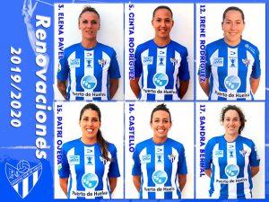 El Sporting inicia la configuración de su plantel con la renovación de seis jugadoras.
