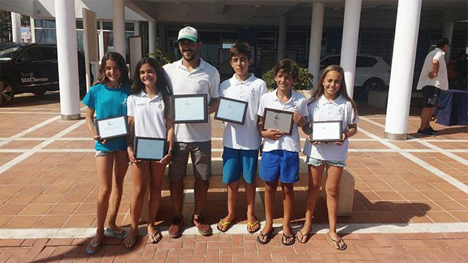 El Real Club Marítimo y Tenis Punta Umbría se proclama campeón de Andalucía de Óptimist