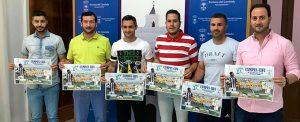 Un momento de la presentación del 'Campus Cifu', que se celebrará en Rociana del 24 al 29 de junio.