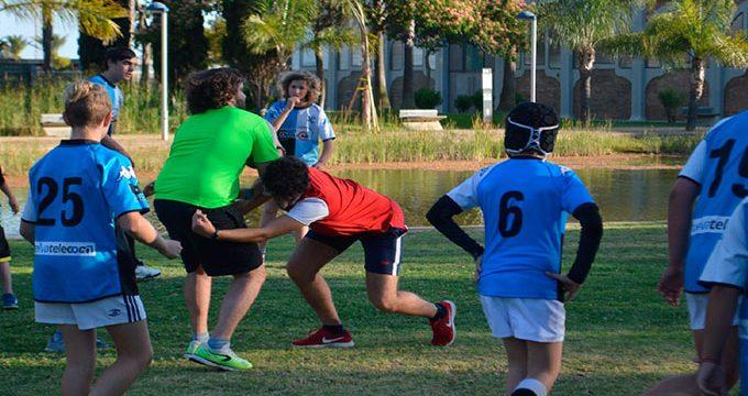 El Club Rugby Bifesa Tartessos de Huelva participa en las jornadas promovidas por AOSA-TEA