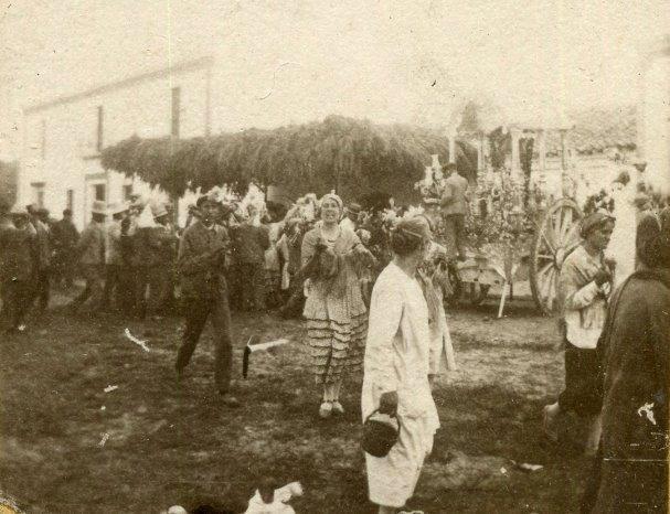 Aldea de El Rocío, década de los 20′ del siglo XX