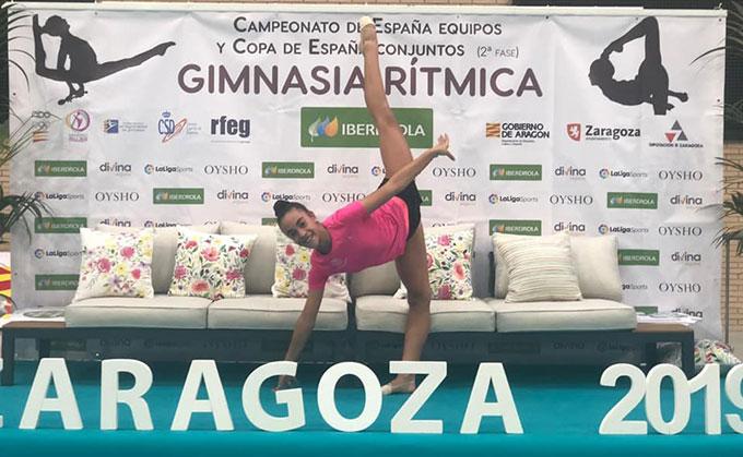 Lucía Paiseo disputa desde este viernes el Campeonato de España por Equipos de Gimnasia Rítmica