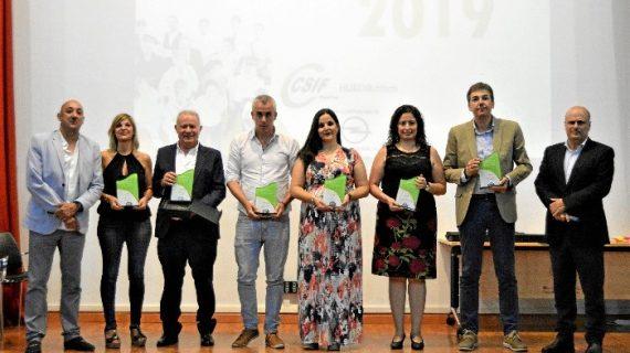 Entregados los IV Premios al Empleado Público del Año en Huelva