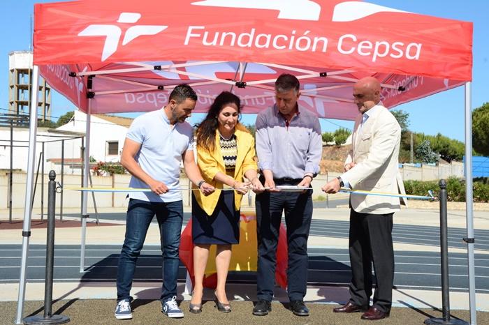 Palos de la Frontera cuenta con un nuevo circuito de calistenia en el polideportivo Municipal