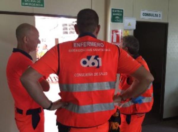 El grupo sanitario del Plan Romero atiende a 654 personas y realiza hasta 20 traslados hospitalarios