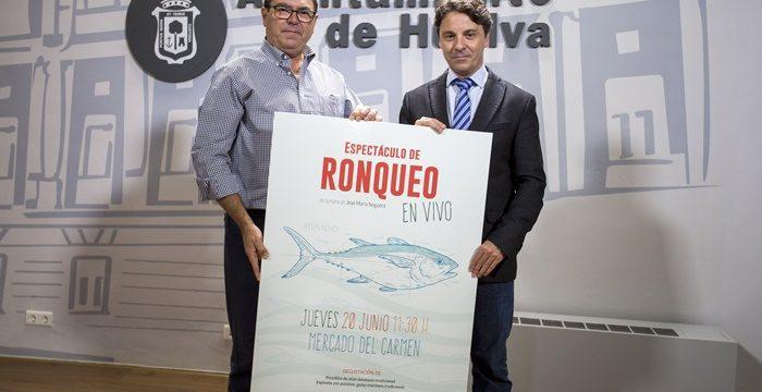 El Mercado del Carmen acogerá por primera vez un ronqueo del atún