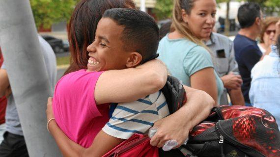 Huelva recibe a los niños saharahuis del programa 'Vacaciones en Paz'
