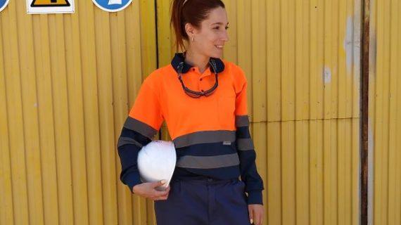 Verónica Barragán, una serrana con corazón lepero que trabaja como técnico de prevención en el sector industrial