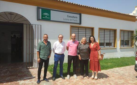 Lucena del Puerto disfruta ya de su nuevo Centro de Salud