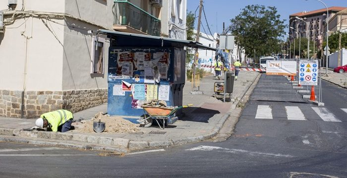 Inicio de la renovación integral de la calle Marchena Colombo