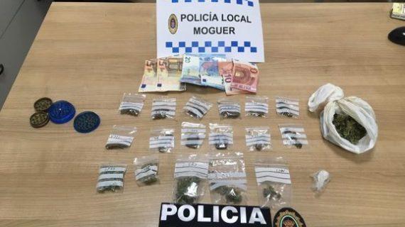 Detenido un joven en Moguer por posesión de estupefacientes durante un control de alcoholemia
