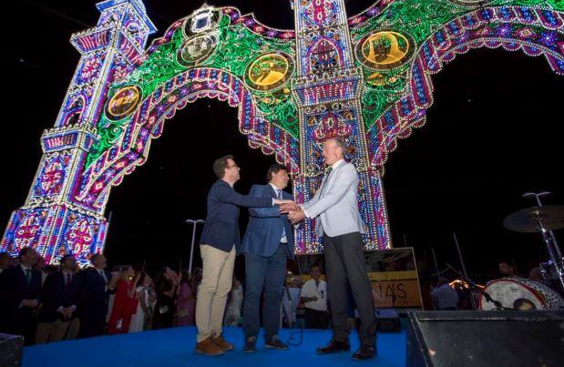 Huelva y EEUU comparten protagonismo en la inauguración de Colombinas 2019